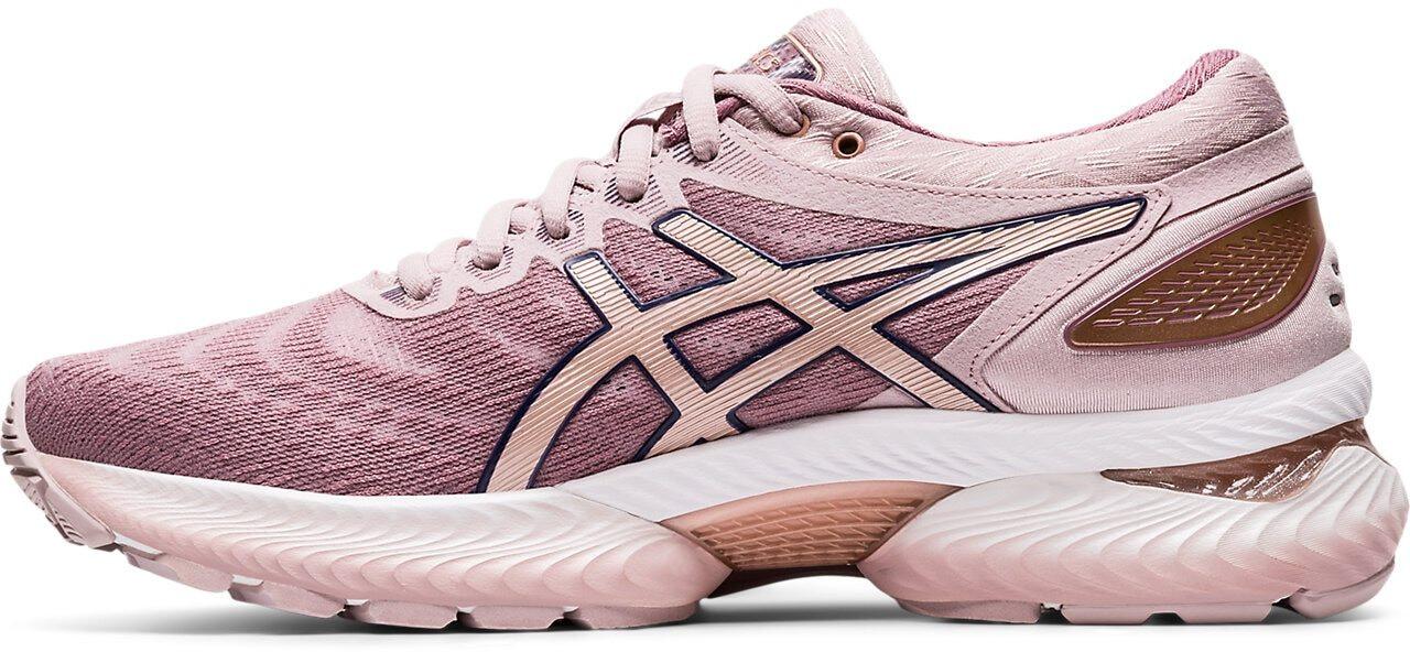 asics Gel Nimbus 22 Shoes Women watershed roserose gold